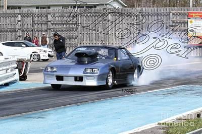 Wall Art - Photograph - 164085c 04-24-16 Esta Safety Park Drag Racing by Vicki Hopper