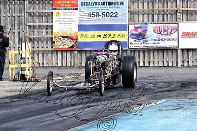 Wall Art - Photograph - 164106 04-24-16 Esta Safety Park Drag Racing by Vicki Hopper