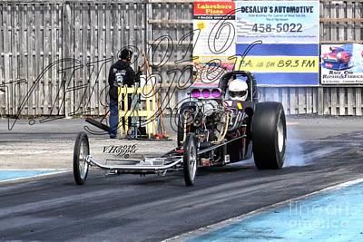 Wall Art - Photograph - 164110 04-24-16 Esta Safety Park Drag Racing by Vicki Hopper