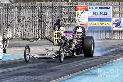 Wall Art - Photograph - 164111 04-24-16 Esta Safety Park Drag Racing by Vicki Hopper