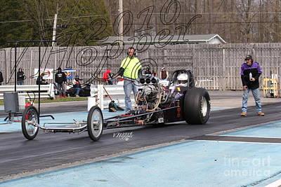 Wall Art - Photograph - 164115 04-24-16 Esta Safety Park Drag Racing by Vicki Hopper