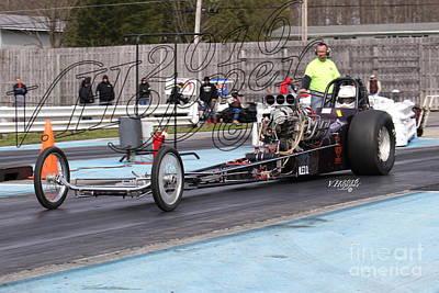 Wall Art - Photograph - 164116 04-24-16 Esta Safety Park Drag Racing by Vicki Hopper