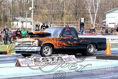 Wall Art - Photograph - 164136 04-24-16 Esta Safety Park Drag Racing by Vicki Hopper