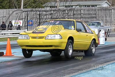 Wall Art - Photograph - 164154 04-24-16 Esta Safety Park Drag Racing by Vicki Hopper
