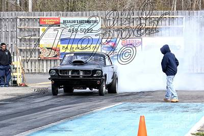 Wall Art - Photograph - 164162b 04-24-16 Esta Safety Park Drag Racing by Vicki Hopper