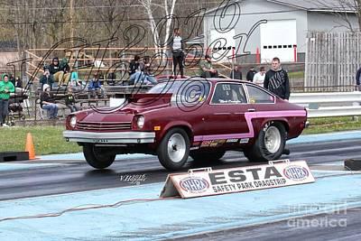 Wall Art - Photograph - 164176 04-24-16 Esta Safety Park Drag Racing by Vicki Hopper