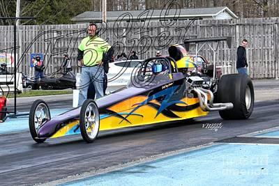 Wall Art - Photograph - 164184 04-24-16 Esta Safety Park Drag Racing by Vicki Hopper