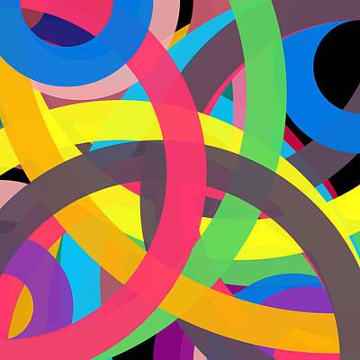 Drawing - 165580141 - Phi Word Circle by REVAD David Riley