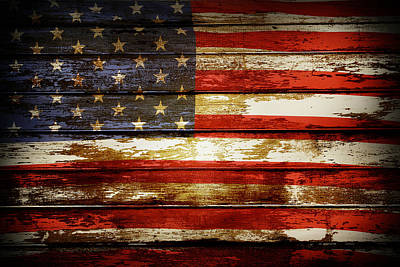 Usa Flag Digital Art - American Flag by Les Cunliffe
