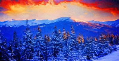 Summer Painting - Nature Landscape Oil Painting by Margaret J Rocha