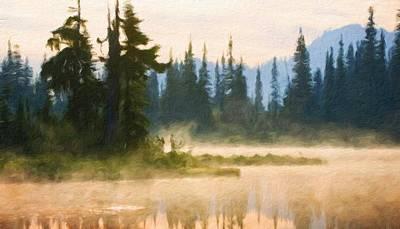 Landscape Painting - Art Landscape Nature  by Margaret J Rocha