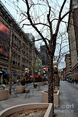 Photograph - 16th Street Mall by Anjanette Douglas