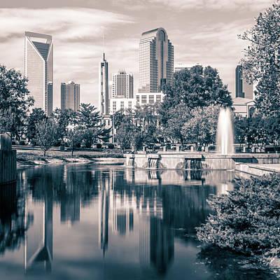 Claude Monet - Autumn Season In Charlotte North Carolina Marshall Park by Alex Grichenko