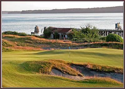 Golf Photograph - 17 - Chambers Bay Golf Course by Chris Anderson