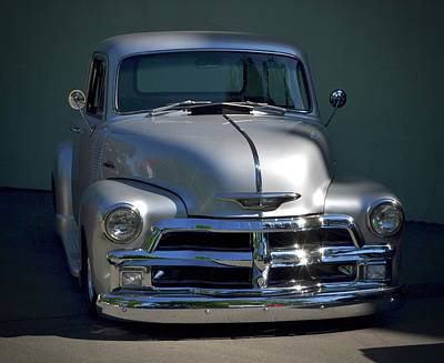 Photograph - Classic Chevy Pickup by Dean Ferreira