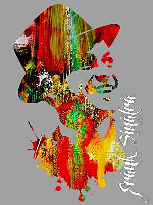 Frank Sinatra Collection Art Print