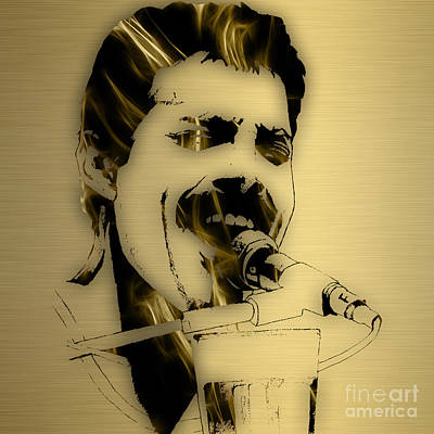Mixed Media - Freddie Mercury Queen Collection by Marvin Blaine