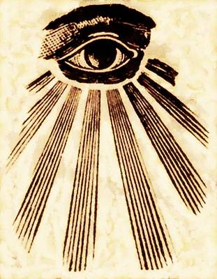 Seeing Painting - Freemason Symbolism By Pierre Blanchard by Pierre Blanchard