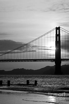 Thomas Kinkade Rights Managed Images - Golden Gate Bridge in San Francisco Royalty-Free Image by ELITE IMAGE photography By Chad McDermott