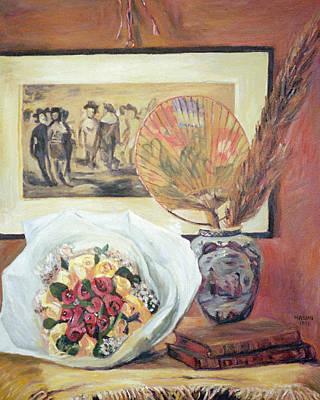 Painting - homage to Renoir by Masami Iida