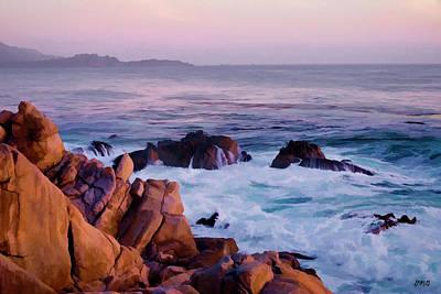 17 Mile Drive Monterey Ca Art Print by David Gordon