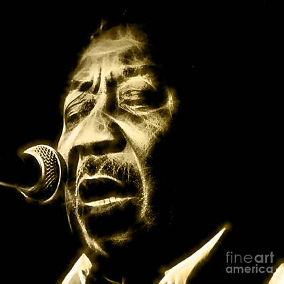 Muddy Waters Collection Art Print by Marvin Blaine