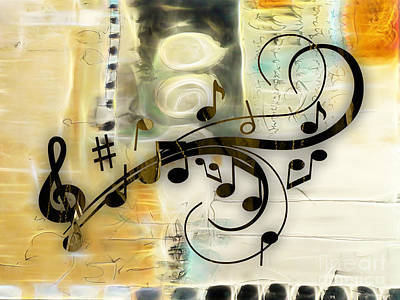 Music Flows Collection Art Print