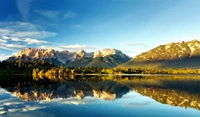 Autumn Digital Art - Nature Of by Victoria Landscapes
