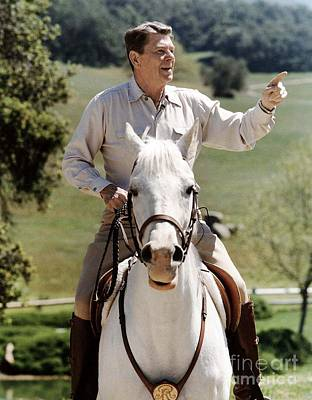 Photograph - Ronald Reagan 1911-2004 by Granger