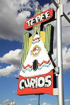 Photograph - Route 66 - Tucumcari New Mexico by Frank Romeo