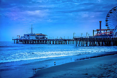 Photograph - Santa Monica Pier Collection-20/36 by Gene Parks