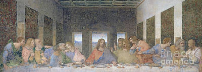 Communion Painting - The Last Supper by Leonardo Da Vinci