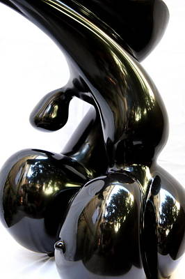 Vittorio Sgarbi Sculpture - The Woman Metaphysics by Emanuele Rubini