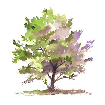 Painting - #17 Tree by Amy Kirkpatrick