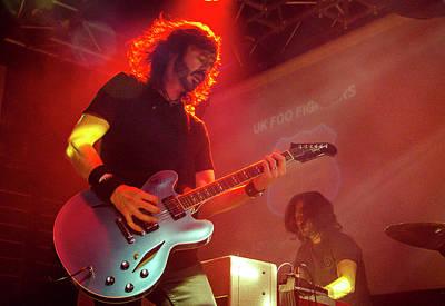 Uk Foo Fighters Live @ Edinburgh Art Print