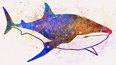 Fish Digital Art - Underwater.fish. by Elena Kosvincheva
