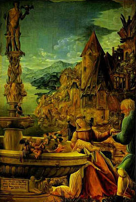 Photograph - Unknown Painting Name by Albrecht Altdorfer