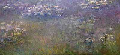 Painting - Waterlilies by Claude Monet