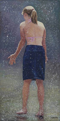 Painting - Wet Fun by Masami Iida