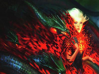 Fantasy Digital Art - Women by Maye Loeser