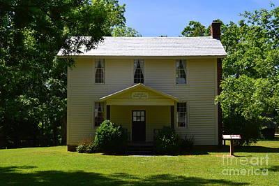 Photograph - 1700's Farm Homestead by Lew Davis