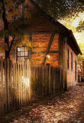 Photograph - 1700s House Old Salem by Bob Pardue