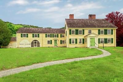 Photograph - 1715 John Buttrick House  -  1715johnbuttrickhouse184727 by Frank J Benz