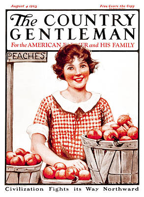 Farm Stand Photograph - Cover Of Country Gentleman Agricultural by Remsberg Inc
