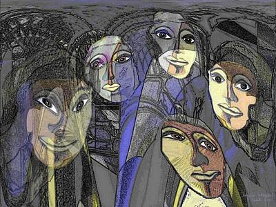 174 - Nice Ladies Art Print