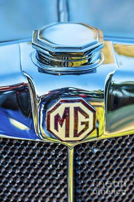 Photograph - 1743.039 1930 Mg Logo by M K Miller