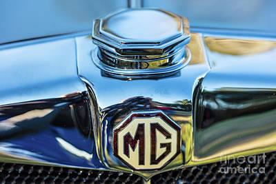 Photograph - 1743.040 Logo 1930 Mg by M K Miller