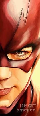 176. Barry. Art Print by Tam Hazlewood