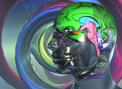 Virtual Digital Art - Untitled by Christ Creation By Jon D Gemma