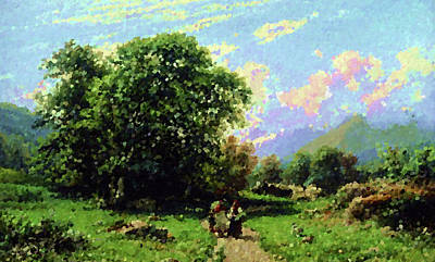 Cloud Painting - Nature Landscape Light by Edna Wallen